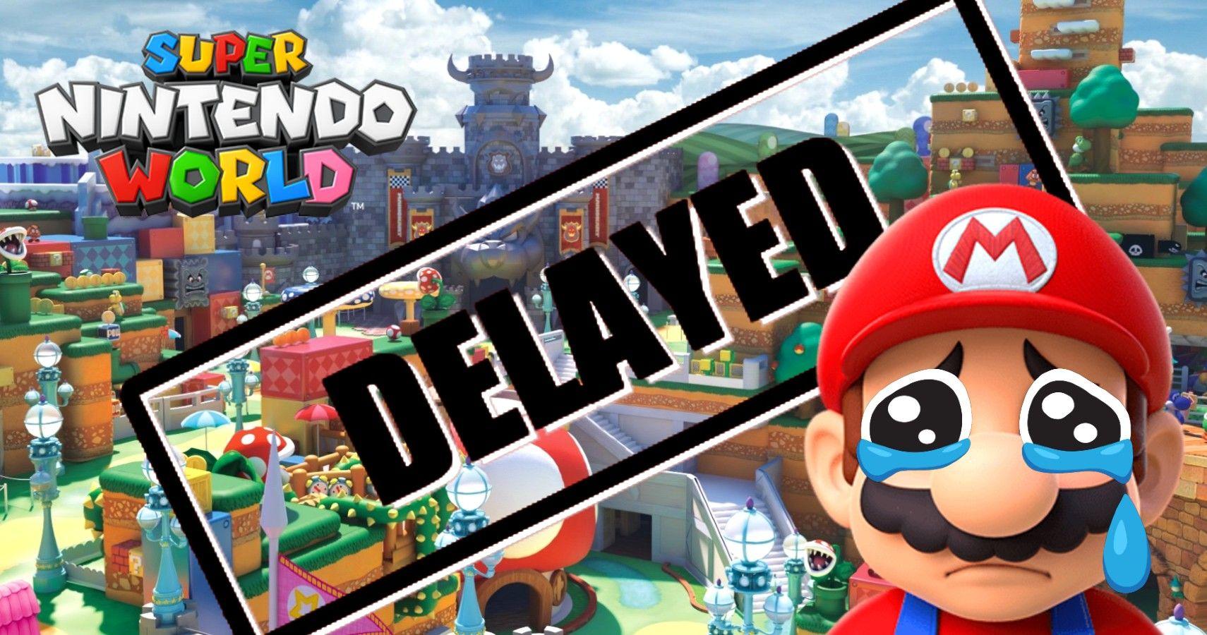 Super Nintendo World At Universal Orlando Has Been Delayed Indefinitely
