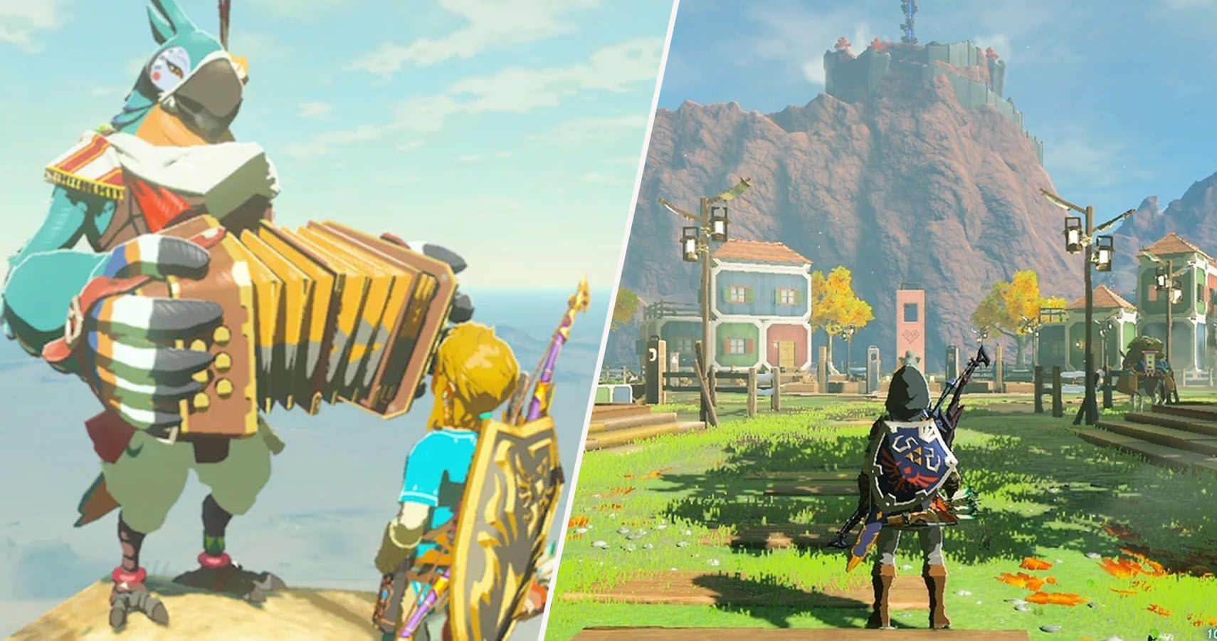 The Legend Of Zelda The Best Songs In Breath Of The Wild Ranked