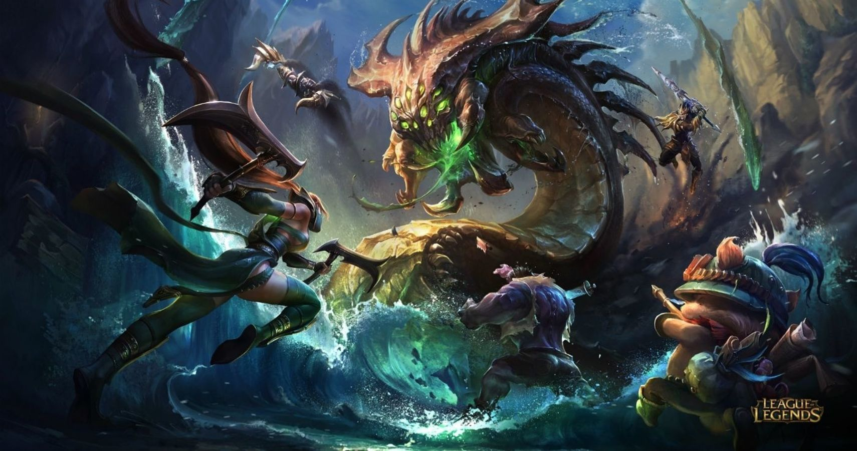 Riot VP Quietly Reveals New League Of Legends MMO | TheGamer