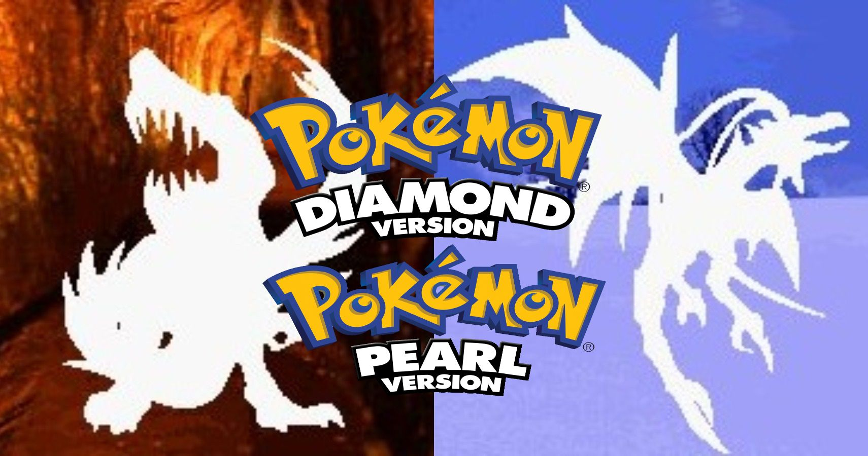 Silhouettes For Unused Legendary Pokemon Found In Diamond & Pearl Beta