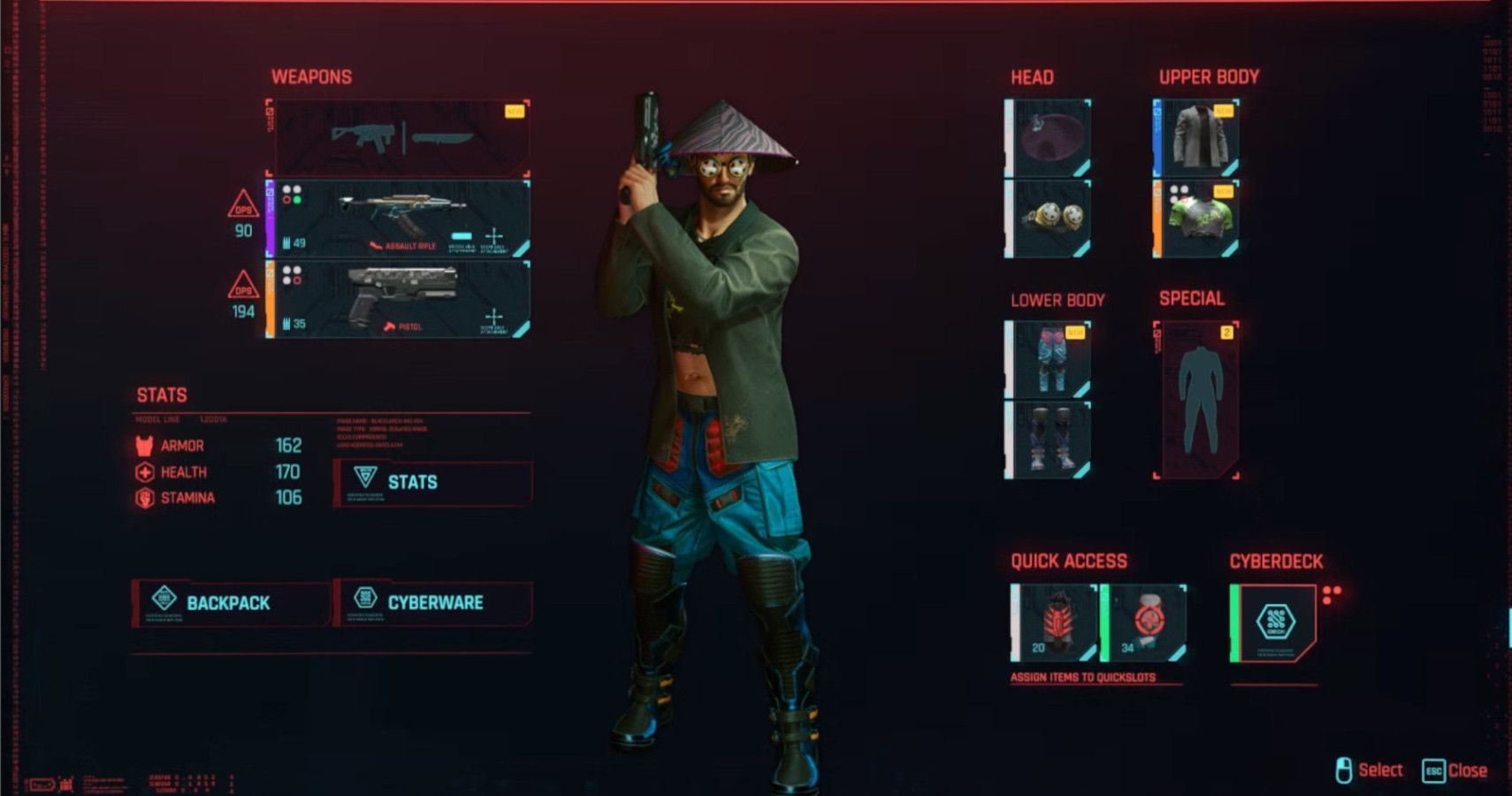 Cyberpunk 2077: I'm Sick Of Dressing Like An Idiot Just To Max My Stats