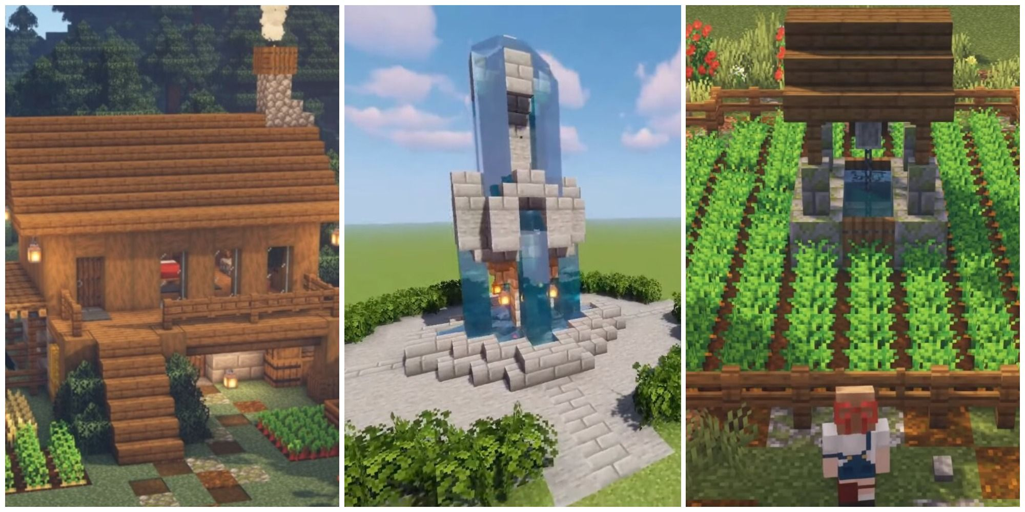 15 Minecraft Survival Friendly Builds To Try TheGamer