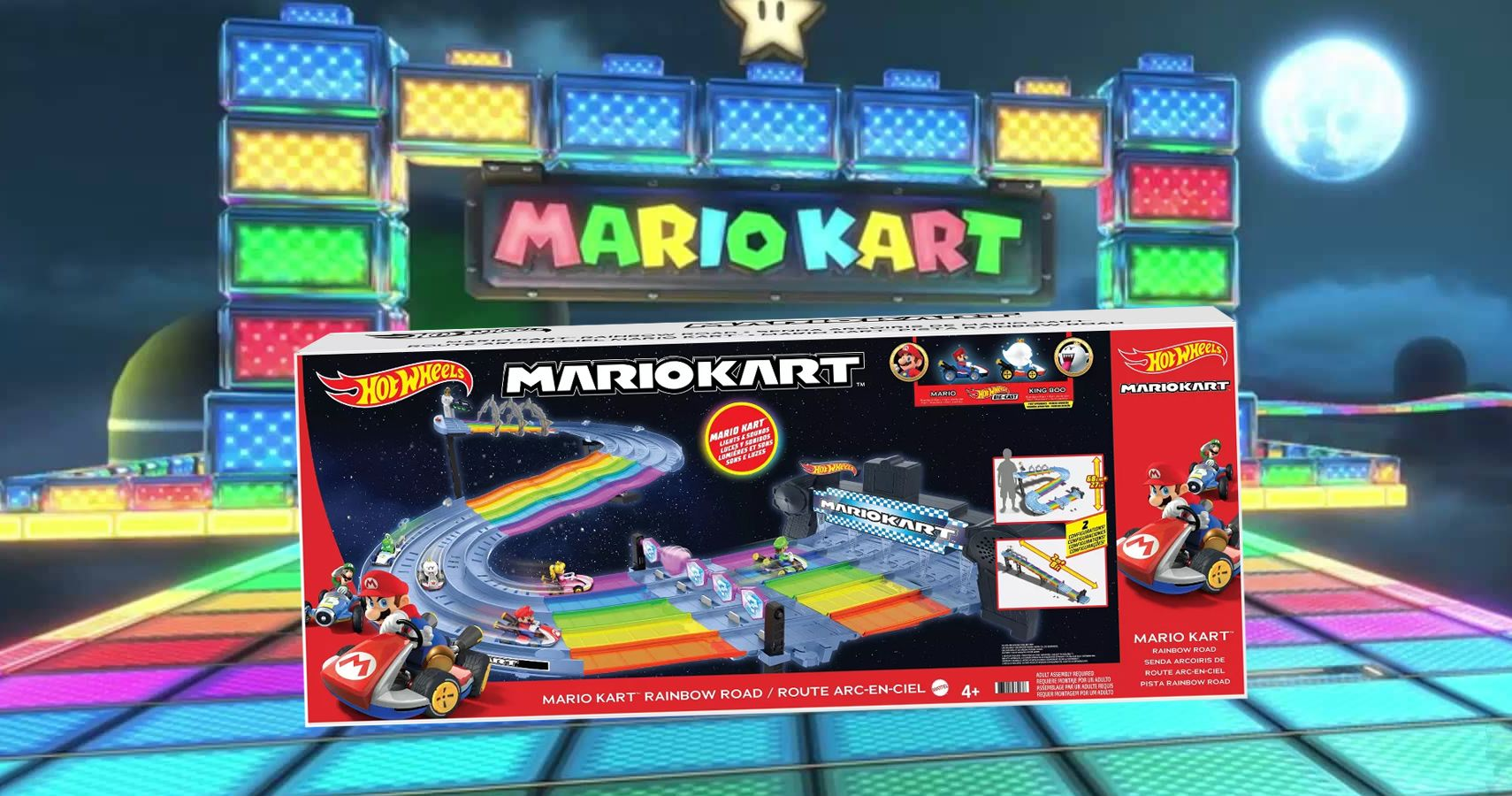Hot Wheels And Mario Combine For A Brand New Set This Week