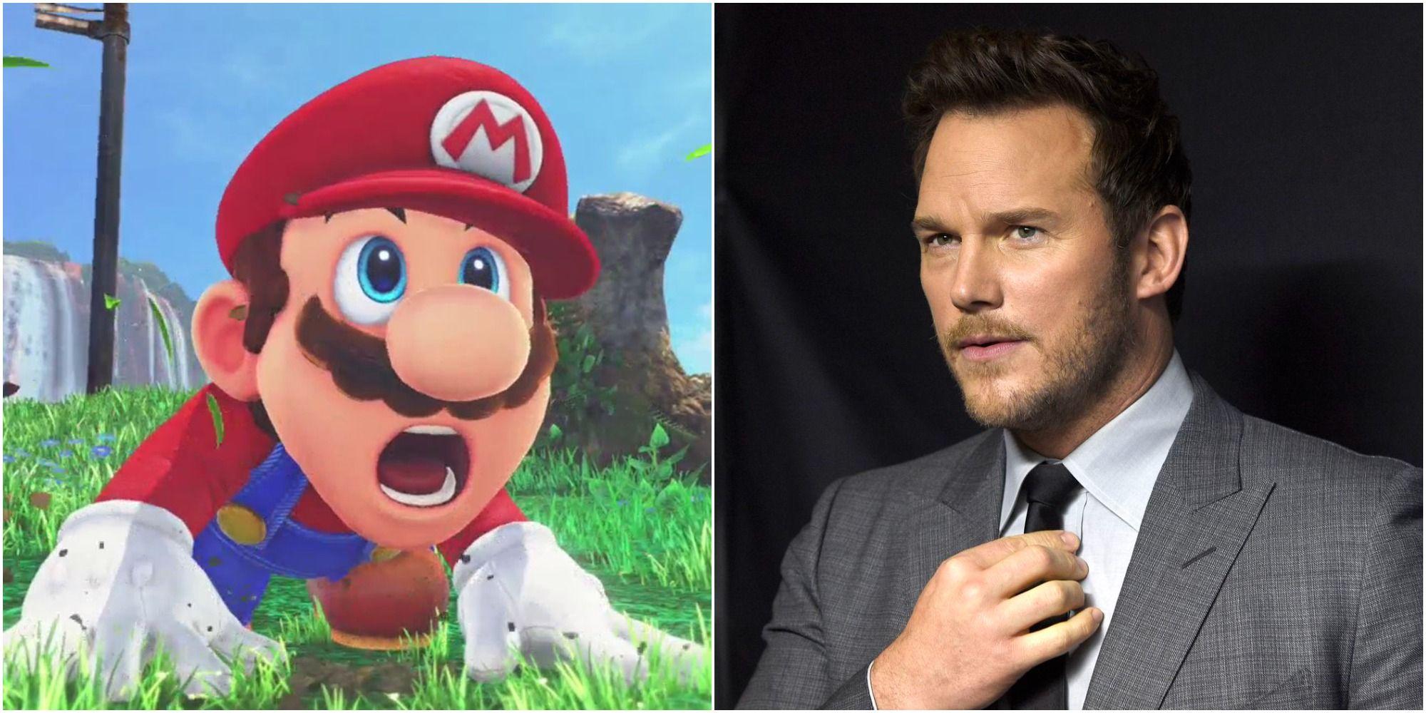 Chris Pratt Mario Casting Was Foretold In 2020
